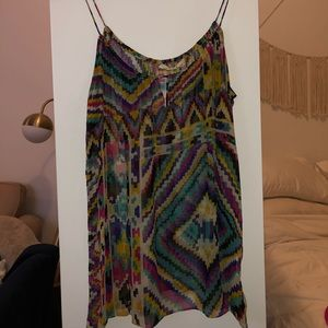 Love Sam Tribal Multi-colored Tank top